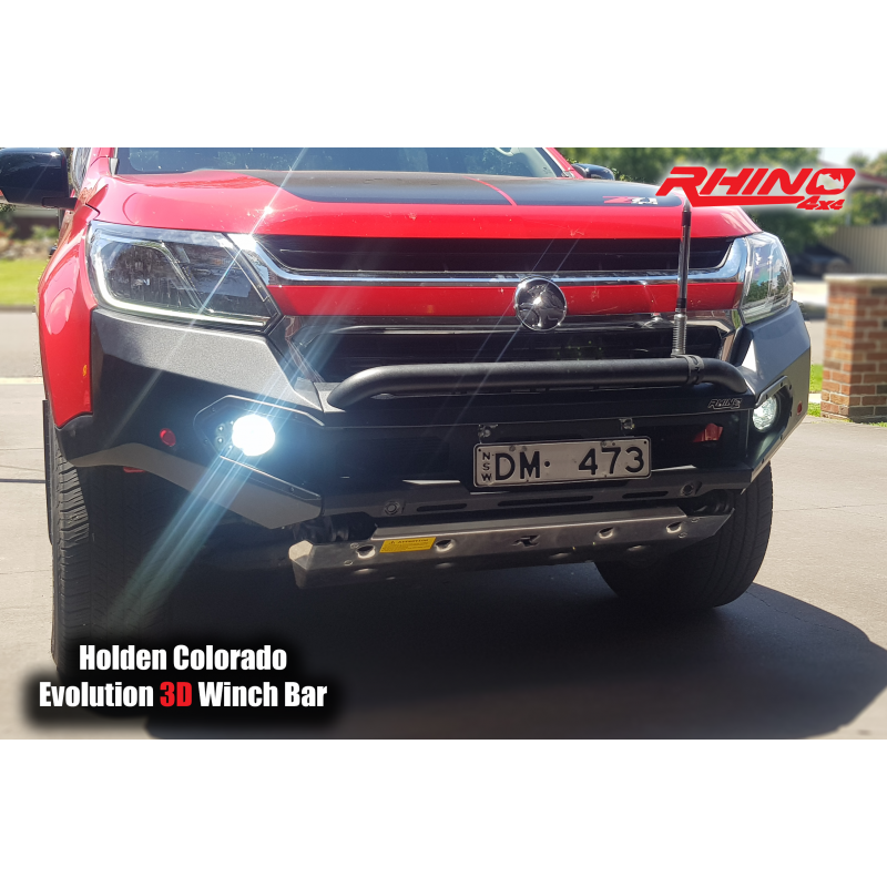 Rhino 4x4 Australia Rg Colorado Front Bar