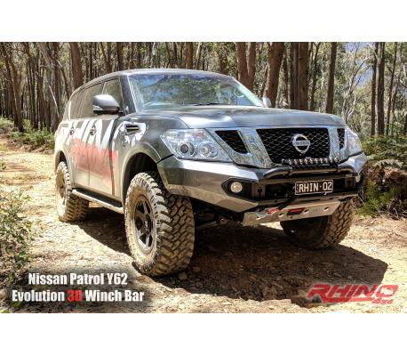 Rhino 4x4 Australia Nissan Y62 Patrol front bar
