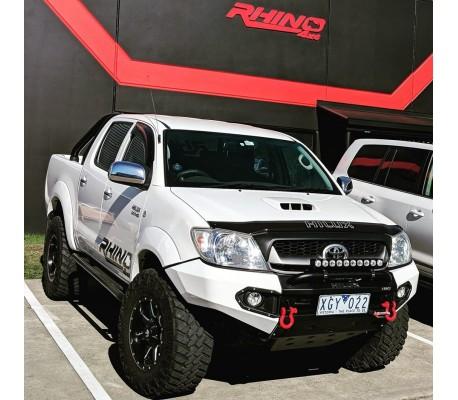 2004 Jeep Wrangler X >> Rhino 4x4 Australia Toyota Hilux 2005+ front bar